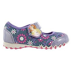 Disney Frozen - Girls' lilac canvas shoes