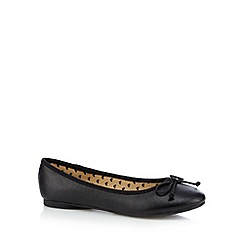 Debenhams - Girls' black ballet pumps
