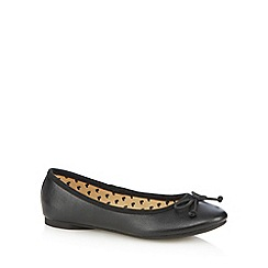 bluezoo - Girl's black ballet pumps