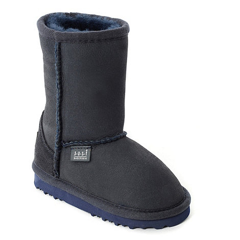 Just Sheepskin - Classic navy Sheepskin Boot
