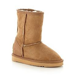 Just Sheepskin - Classic tan Sheepskin Boot