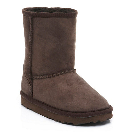 Just Sheepskin - Classic brown Sheepskin Boot