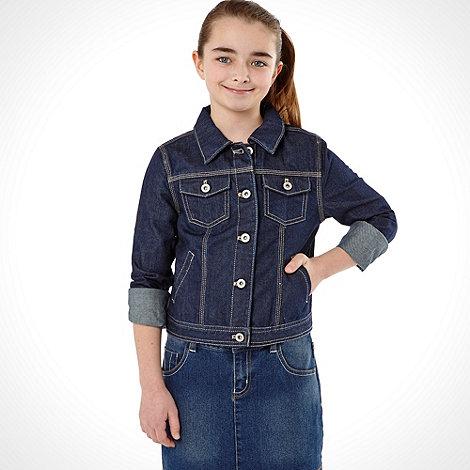 bluezoo - Girl+s navy denim jacket
