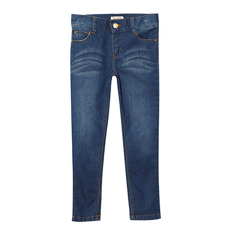 bluezoo - Girl+s mid blue skinny jeans
