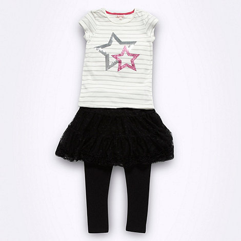 bluezoo - Girl+s black three piece tutu set