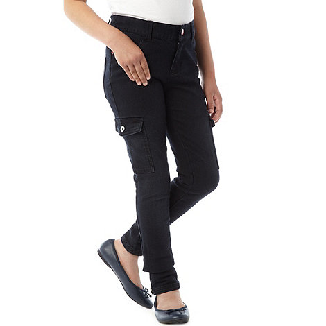 bluezoo - Girl+s navy cargo trousers