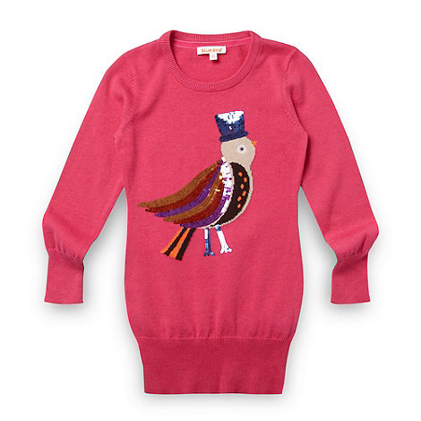 bluezoo - Girl+s pink sequin bird tunic