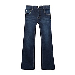 bluezoo - Girl's blue bootcut jeans