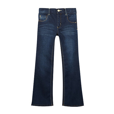 bluezoo - Girl+s blue bootcut jeans