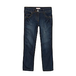 bluezoo - Girl's mid blue bootcut jeans