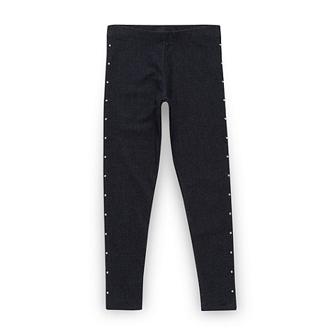 bluezoo - Girl+s blue studded jeggings