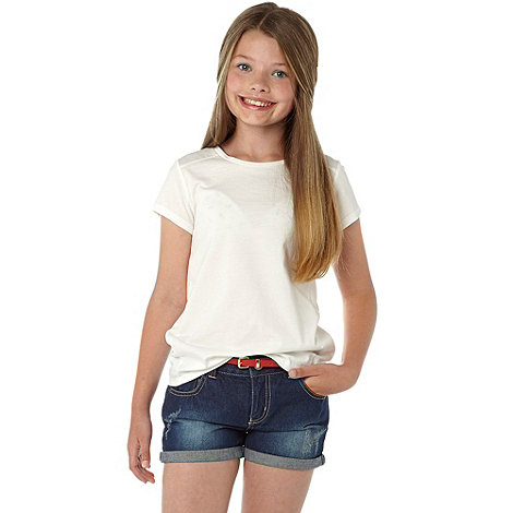 bluezoo - Girl+s denim short and belt
