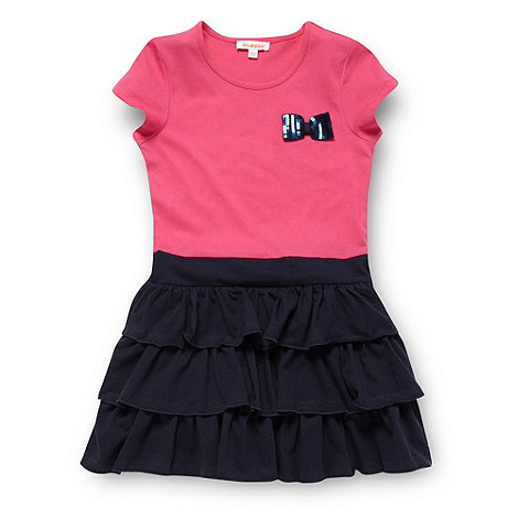 bluezoo - Girl+s pink bow mock dress