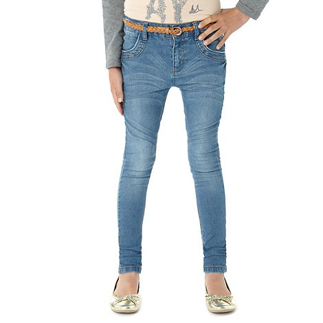 Mantaray - Girl+s light blue skinny jeans