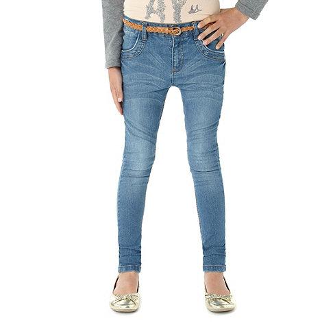 Mantaray - Girl+s light blue skinny jeans