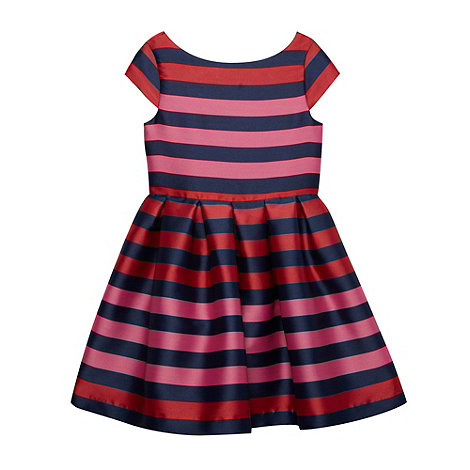 J by Jasper Conran - Girl+s multi jacquard stripe dress