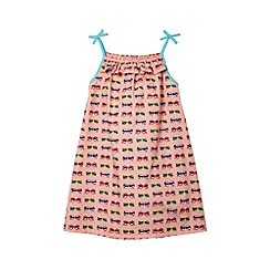 bluezoo - Girl's pink sunglasses printed dress
