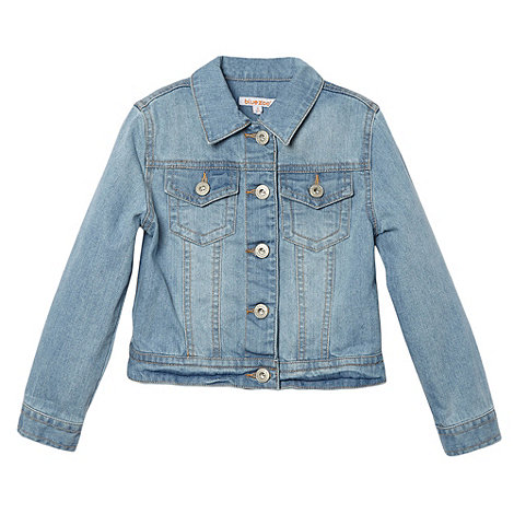 bluezoo - Girl+s light blue denim jacket