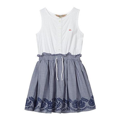 Mantaray - Girl+s white striped dress