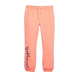 Pineapple - Girl's coral sweat jogging bottoms