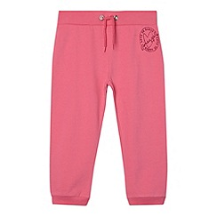 Pineapple - Girl's pink branded cropped jogging bottoms