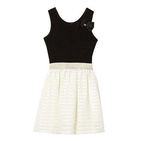 Star by Julien Macdonald - Designer girl+s off white disc dress