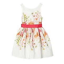 RJR.John Rocha - Designer girl's pink floral prom dress