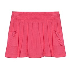 bluezoo - Girl's pink jersey skirt