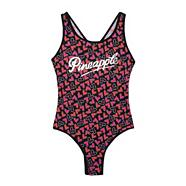 Girl's pink heart swimsuit