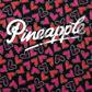Pineapple - Girl+s pink heart swimsuit Alternative 2