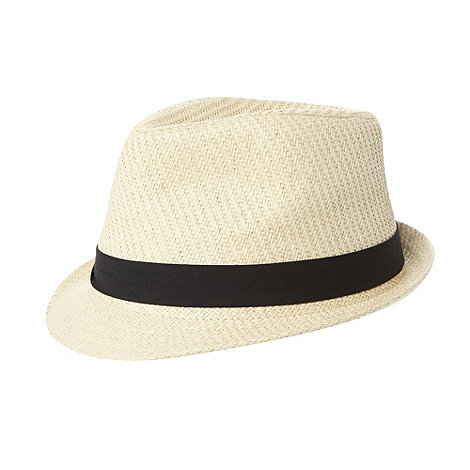 bluezoo - Girl+s black band trilby hat