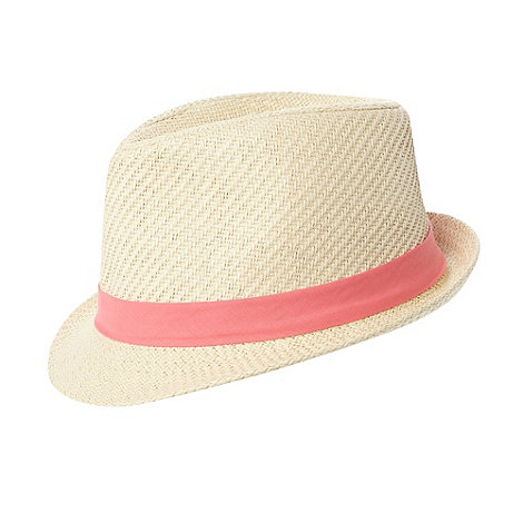 bluezoo - Girl+s pink band trilby hat