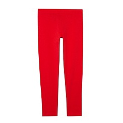 bluezoo - Girl's red elasticated leggings