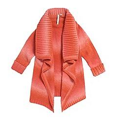 Butterfly by Matthew Williamson - Girl's orange tie dye cardigan