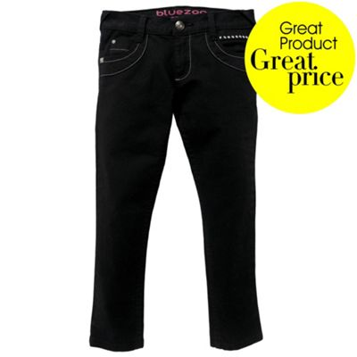 Girls Black Skinny Jeans