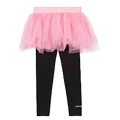 Pineapple - Girl's pink tutu and leggings
