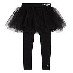 Pineapple - Girl's black tutu and leggings set