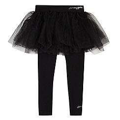 Pineapple - Girl's black tutu and leggings set