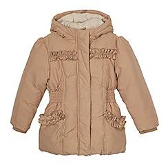 RJR.John Rocha - Designer girl's taupe padded coat