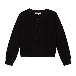 bluezoo - Girl's black knitted bolero