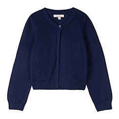 bluezoo - Girl's navy knitted bolero