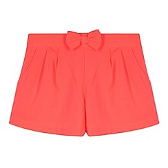 bluezoo - Girl's neon pink shorts