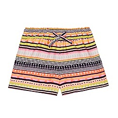 bluezoo - Girl's black aztec shorts