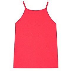 bluezoo - Girl's neon pink vest top