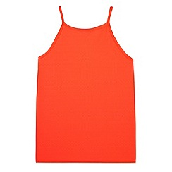 bluezoo - Girl's neon coral vest top