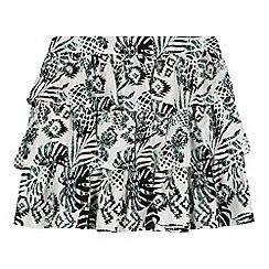 bluezoo - Girl's aqua pineapple skirt
