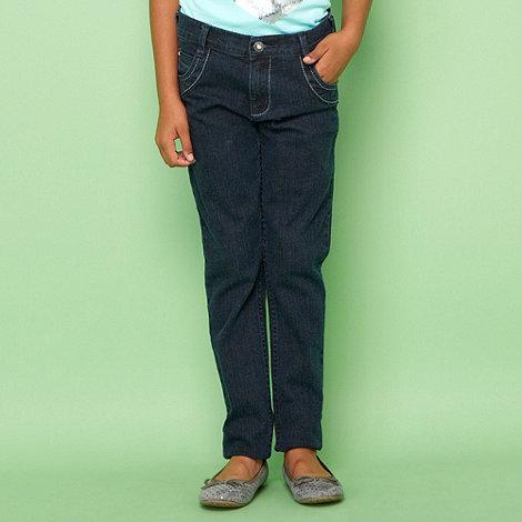 bluezoo - Girl+s dark blue skinny jeans