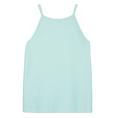 bluezoo - Girl's aqua textured vest