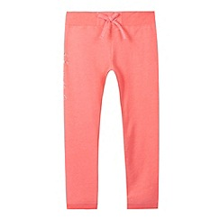 Pineapple - Girl's coral neon jogging bottoms