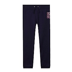 Pineapple - Girl's navy 'Dance' joggers